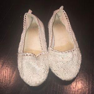 H&M slip on lace shoes